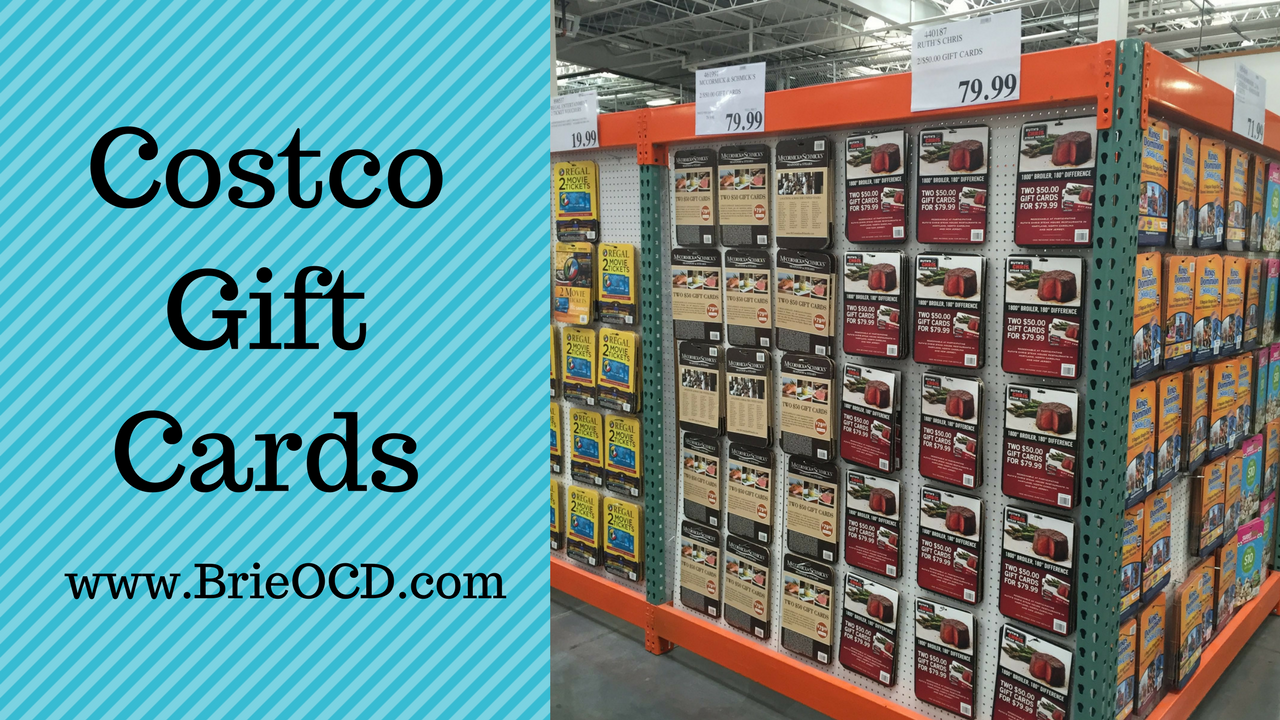 Costco Gift Cards How To Make Money By Buying Them Brie Ocd