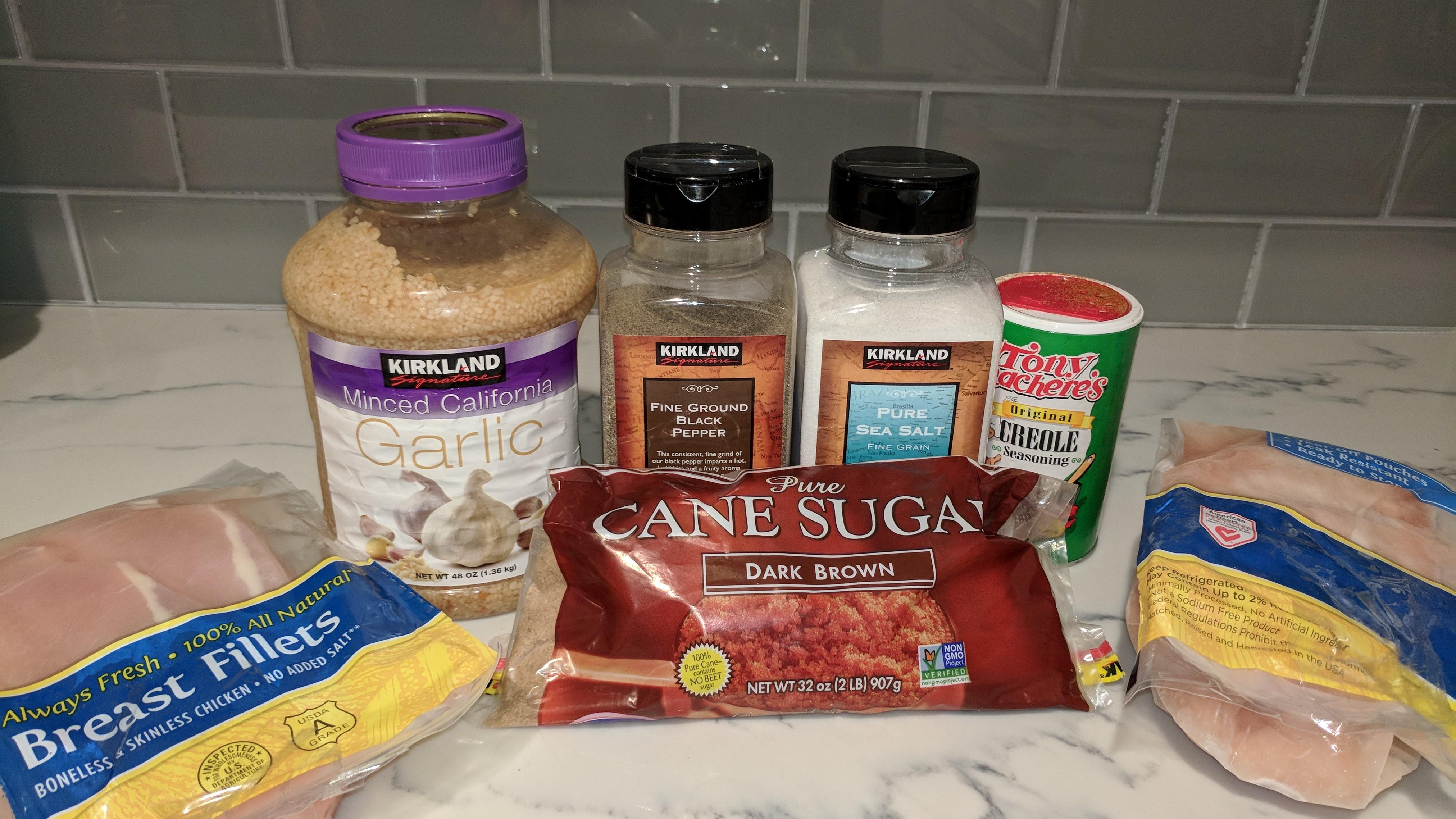 garlic-chicken-ingredients