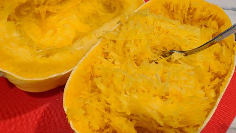 How To: Cook Spaghetti Squash