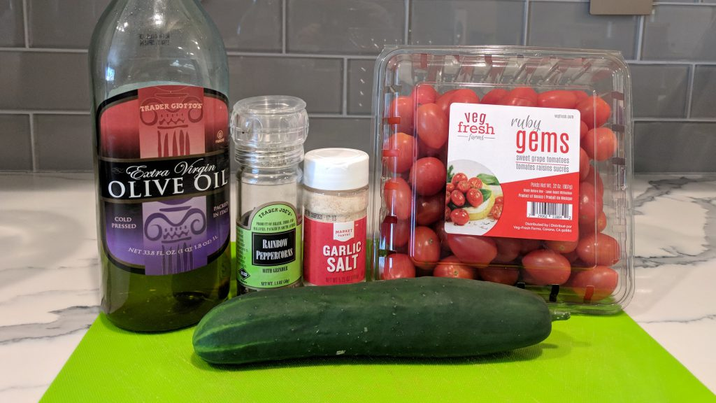 tomato cucumber salad ingredients 1