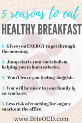 5 reasons to eat a protein packed breakfast