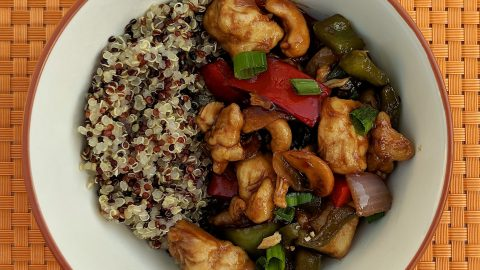 Cashew Chicken and Quinoa