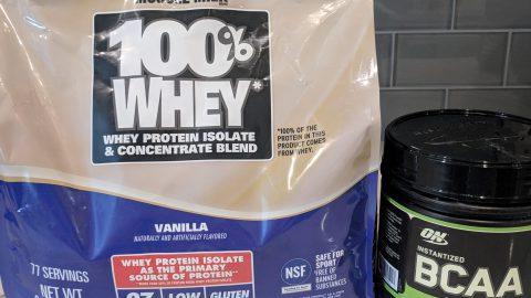 Creamsicle Protein Shake