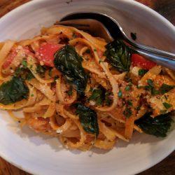 fetticuine-shrimp-dish