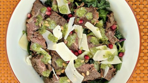 Marinated Tri-Tip Salad