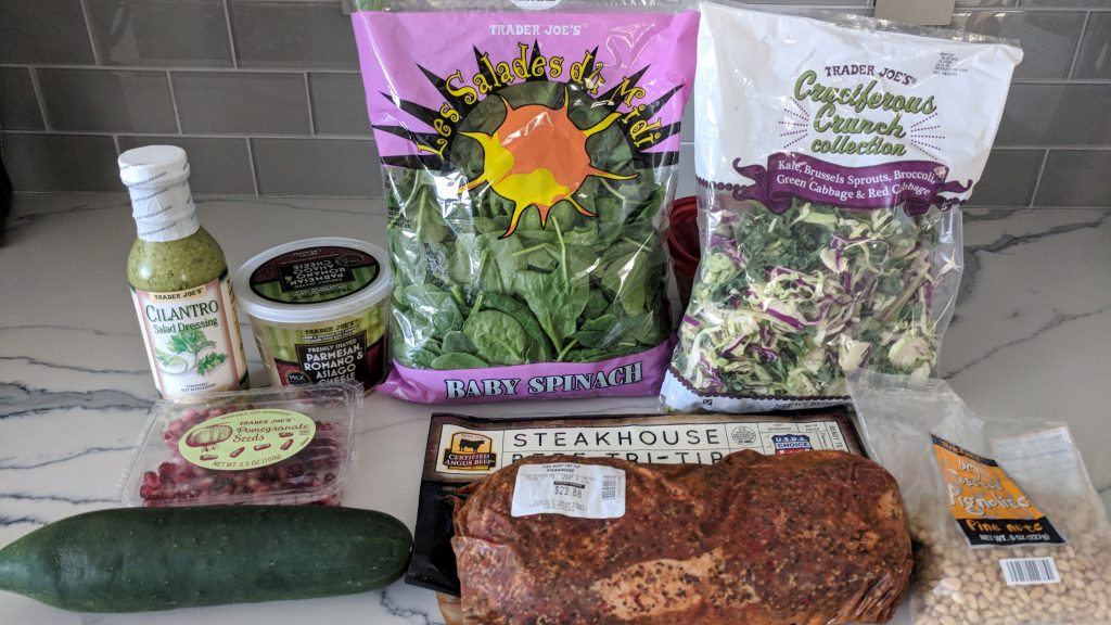 marinated tri tip salad ingredients