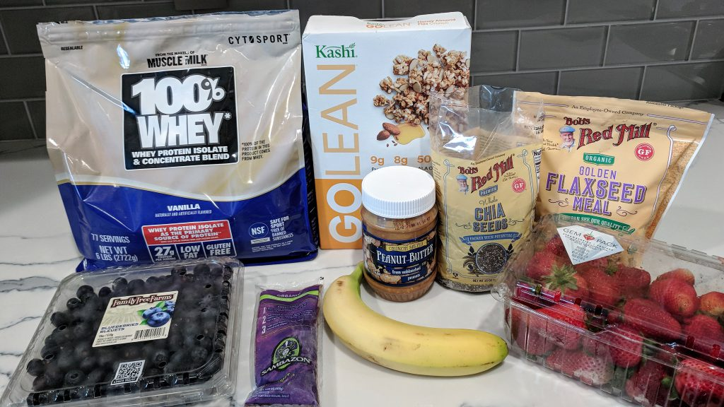 protein acai bowl ingredients