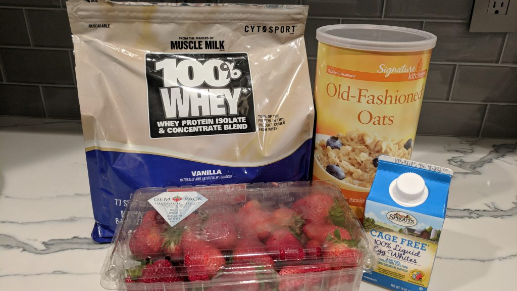protein oatmeal ingredients