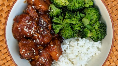 Instant Pot: Sesame Chicken