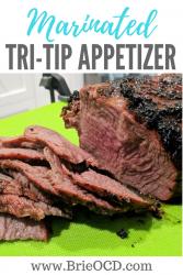 marinated tri-tip appetizer