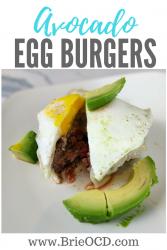 avocado egg burgers