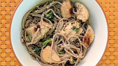 Grilled Chicken Soba Noodle