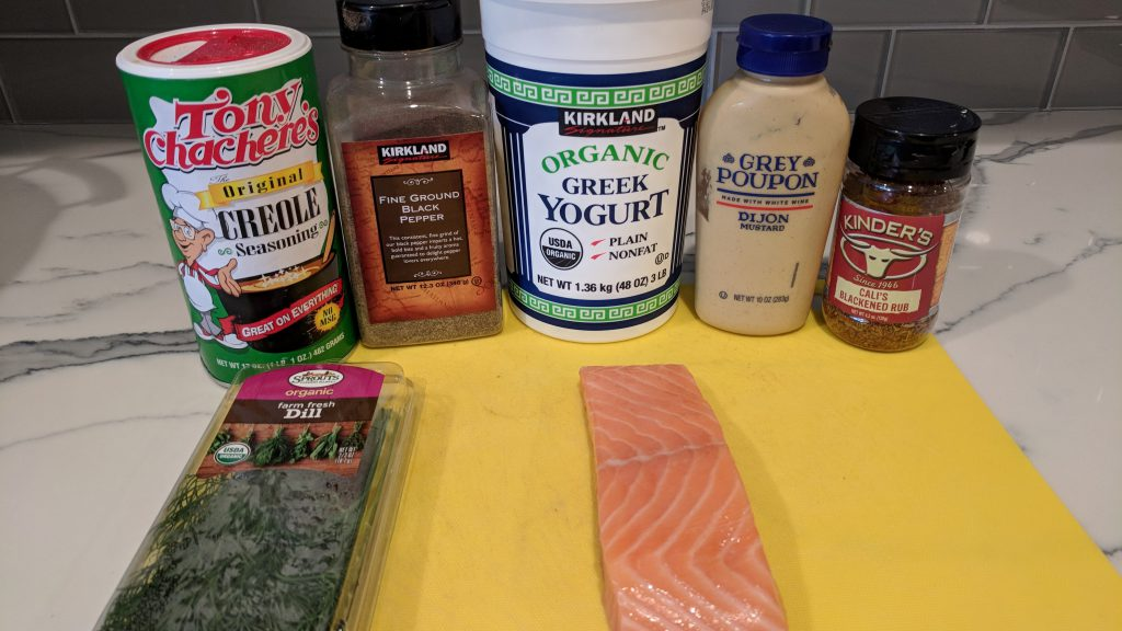 grilled salmon ingredients