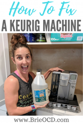 how to fix a SS-10 keurig coffee machine