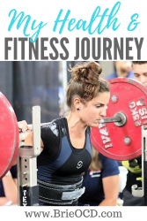 my health and fitness journey