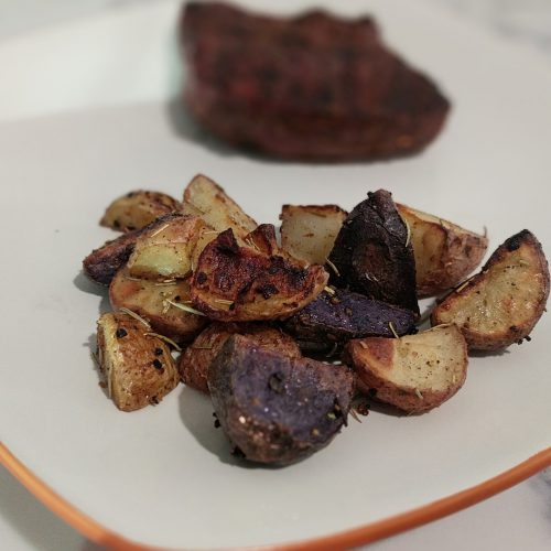 roasted rosemary potatoes square
