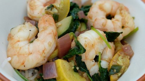 Shrimp & Veggie Stir-Fry