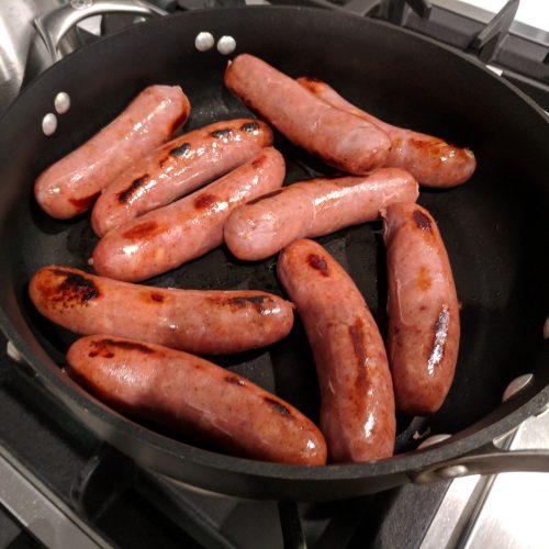 brown the sausage