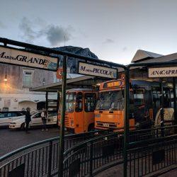bus stop off piazzetta