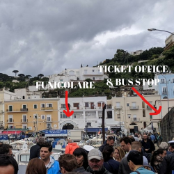 capri funicolare ticket office bus stop map 1