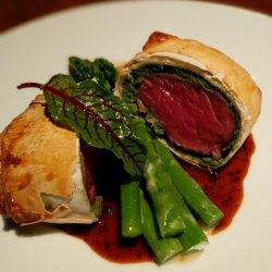 crackers beef wellington