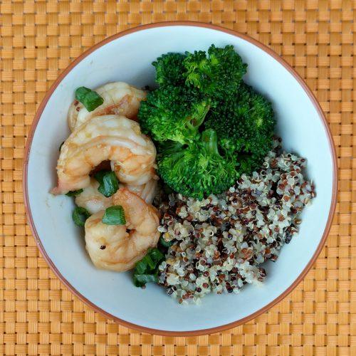 honey garlic shrimp final overview
