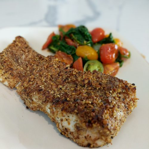 nut crusted halibut final