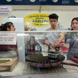 outdoor market food