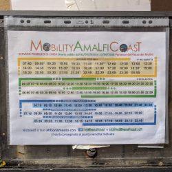 positano bus route schedule