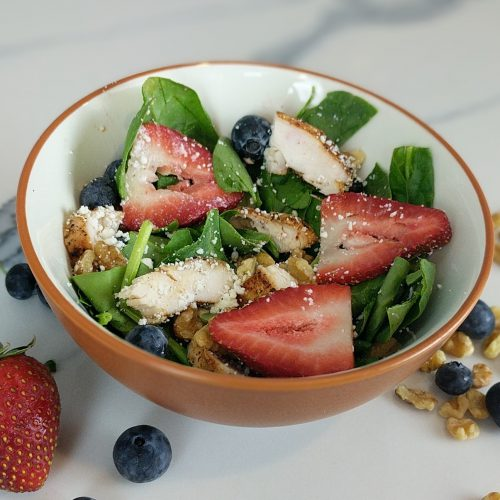 summer berry salad square