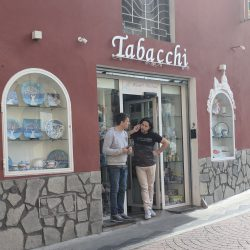 tabacchi where you buy tickets across from bus stop