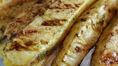 Grilled Cinnamon Sugar Pineapple