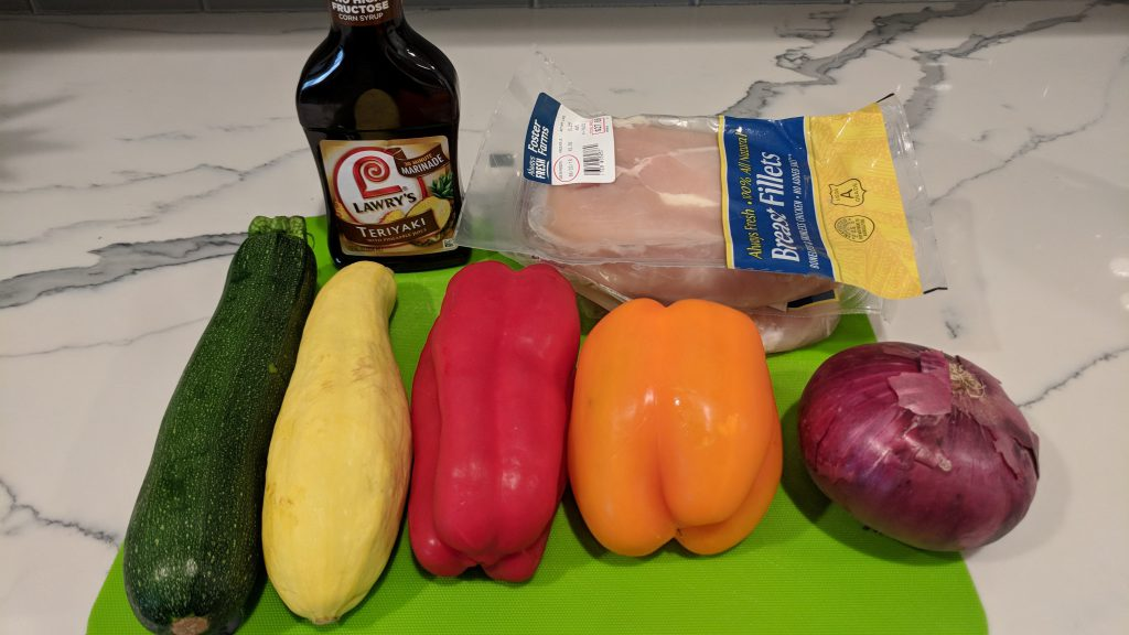 chicken skewer ingredients