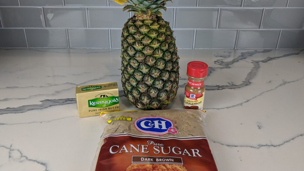 grilled pineapple ingredients