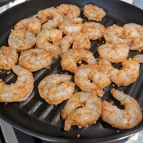 saute grill shrimp