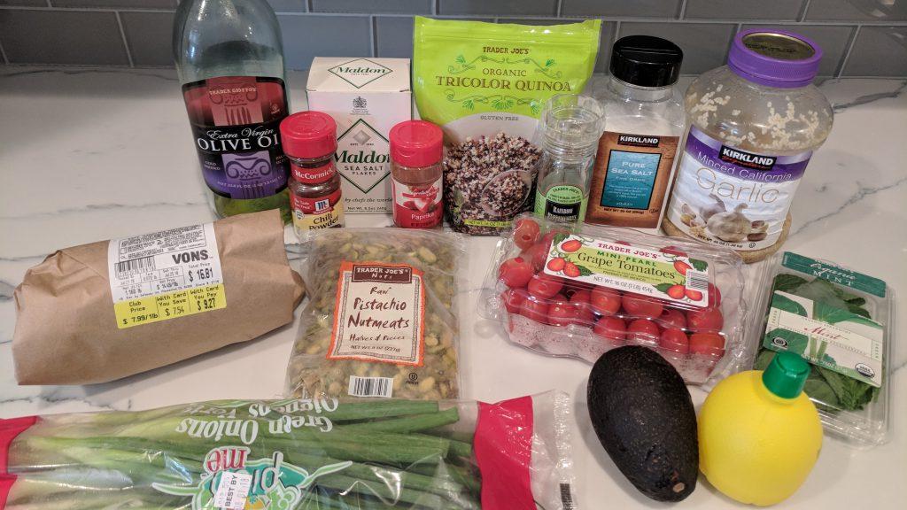 shrimp cobb salad ingredients