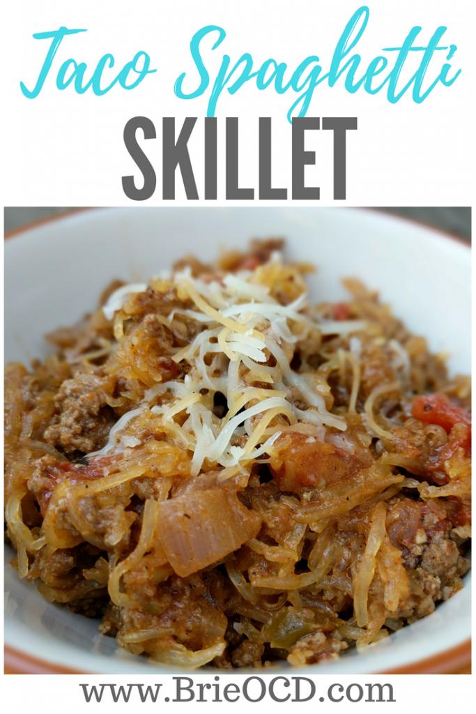 taco spaghetti skillet
