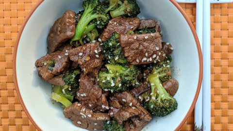 Instant Pot: Beef & Broccoli
