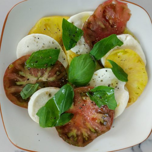 caprese salad final overview