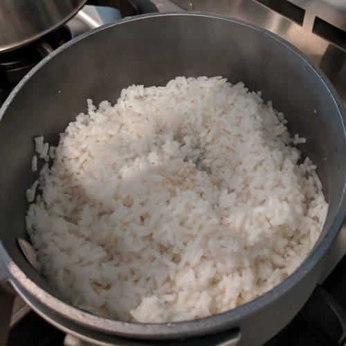 chicken veggie stir fry cook rice according to pkg