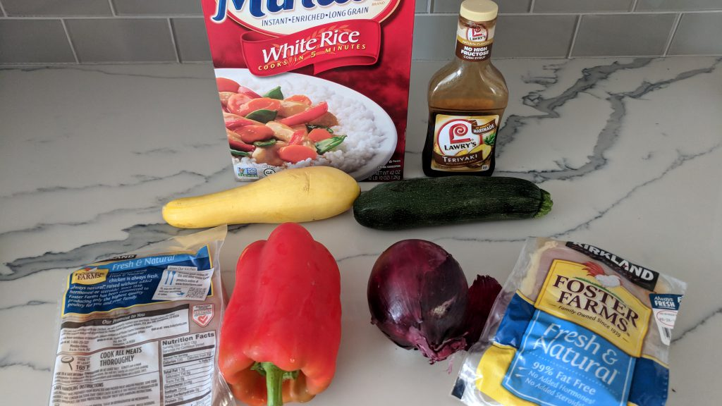 chicken veggie stir fry ingredients