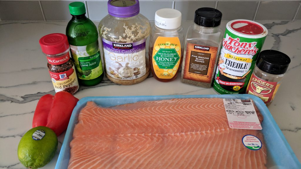 chili lime salmon ingredients