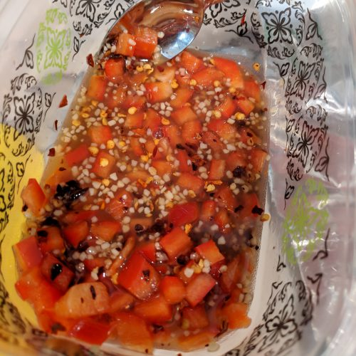chili lime salmon make glaze