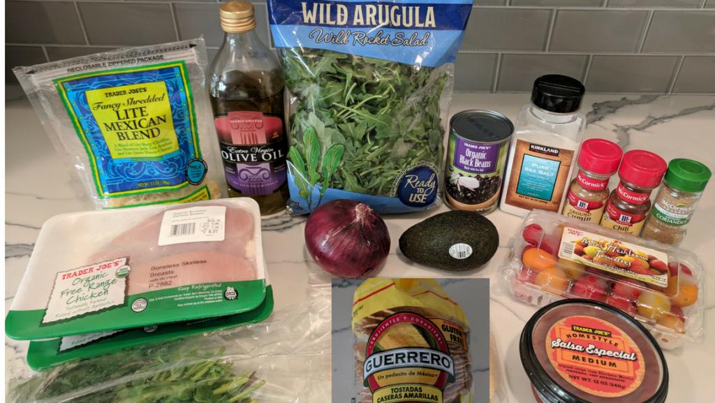 mexican tostada ingredients