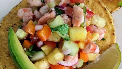 Tropical Shrimp Ceviche