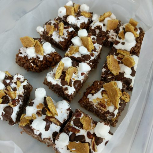 smores cut and store in airtight container