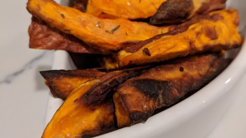 Air Fryer: Sweet Potato Fries