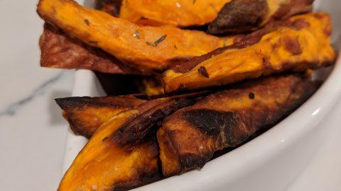 Air Fryer: Sweet Potato Fries