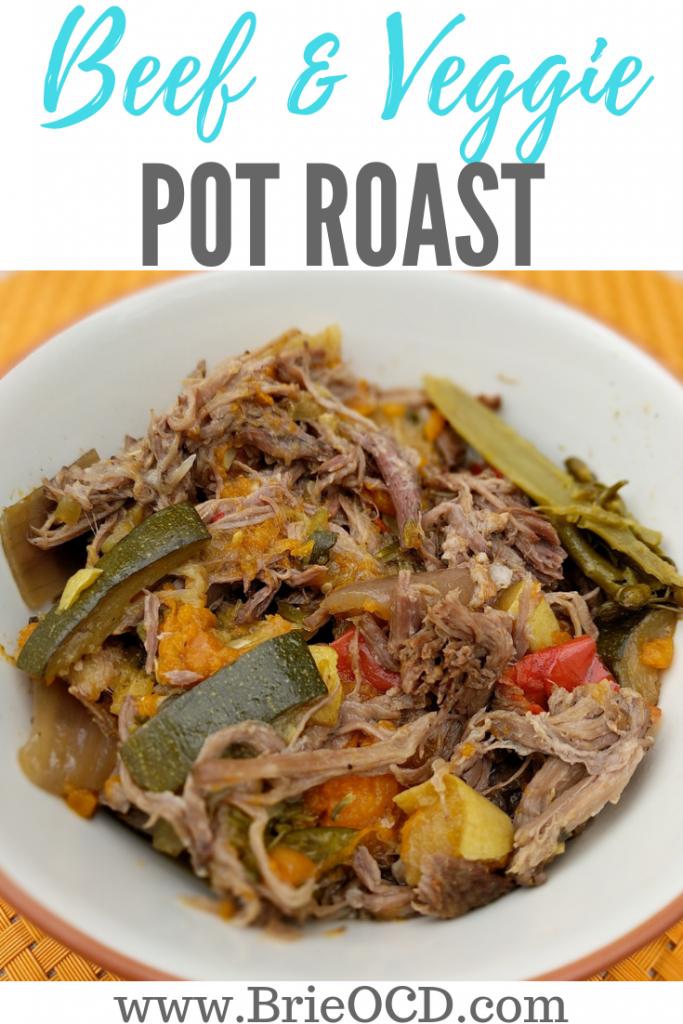 beef and veggie crock pot roast