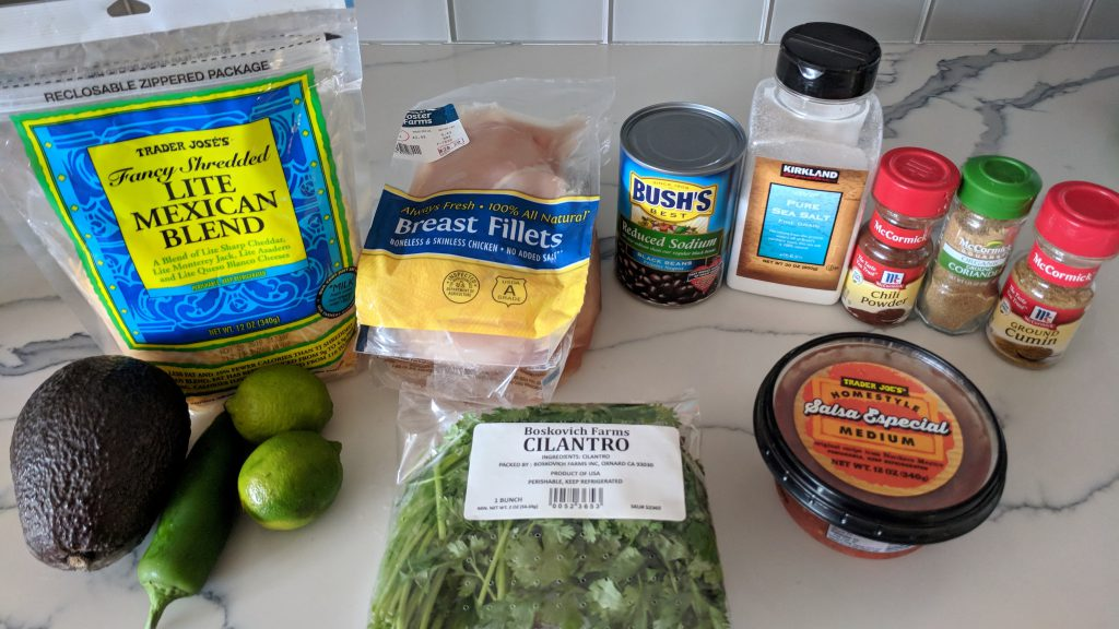 cilantro lime chicken ingredients